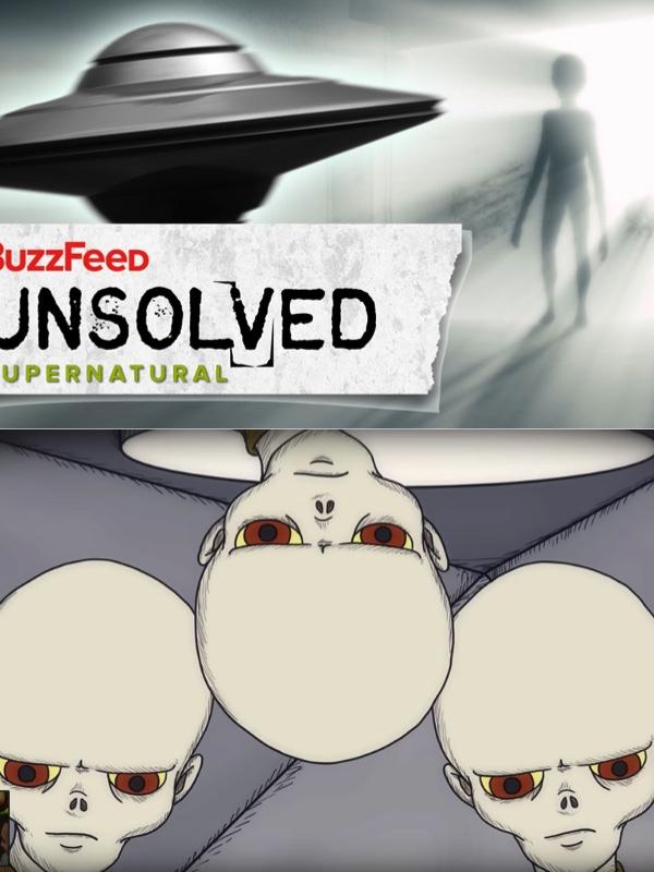 Top 10 Buzzfeed Unsolved- Supernatural Episodes | Supernova